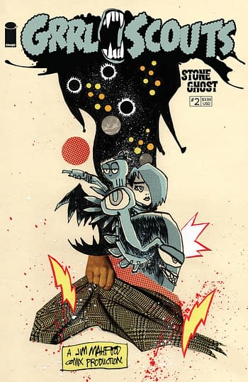 Cover image for GRRL SCOUTS STONE GHOST #2 (OF 6) CVR A MAHFOOD (MR)