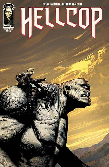 Cover image for HELLCOP #3 CVR A HABERLIN & VAN DYKE (MR)