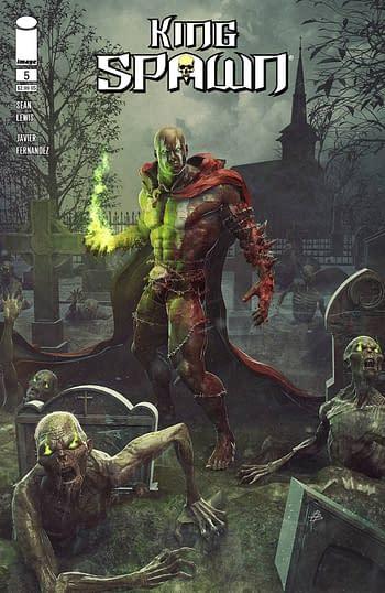 Cover image for KING SPAWN #5 CVR A BARENDS