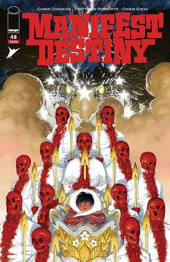 Cover image for MANIFEST DESTINY #48 (MR)