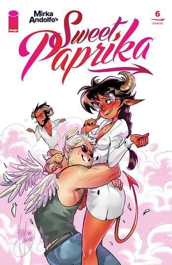 Cover image for MIRKA ANDOLFO SWEET PAPRIKA #6 (OF 12) CVR A ANDOLFO (MR)