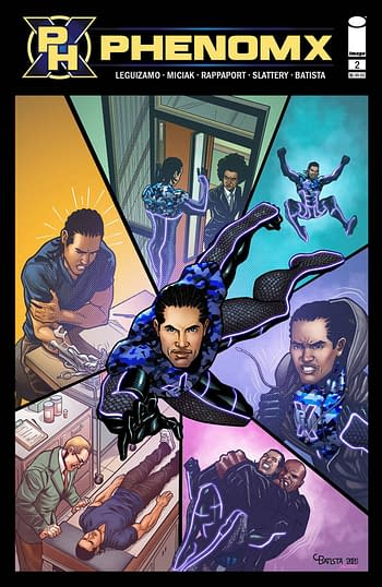 Cover image for PHENOM X #2 (OF 5)