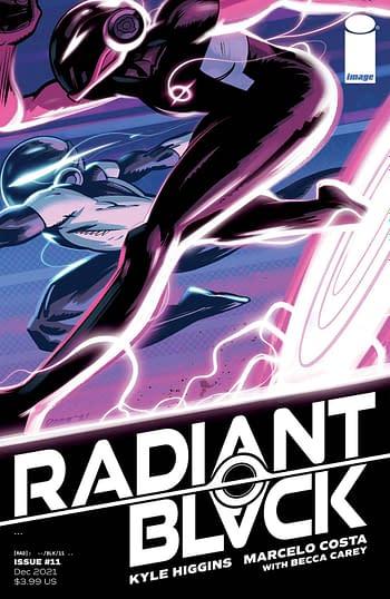 Cover image for RADIANT BLACK #11 CVR A BURNETT