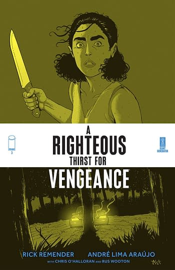 Cover image for RIGHTEOUS THIRST FOR VENGEANCE #3 (MR)