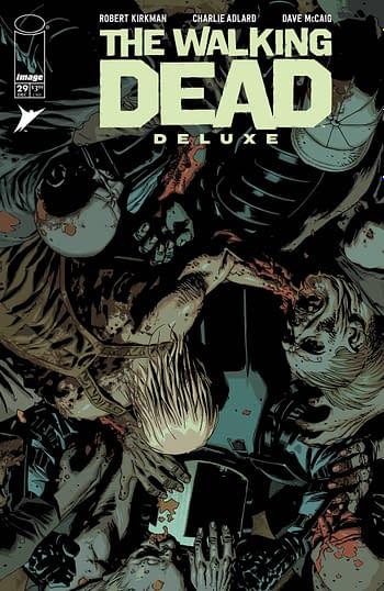 Cover image for WALKING DEAD DLX #29 CVR B ADLARD & MCCAIG (MR)