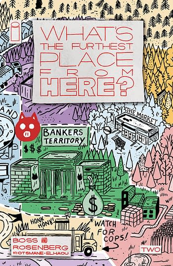 Cover image for WHATS THE FURTHEST PLACE FROM HERE #2 CVR D 25 COPY INCV