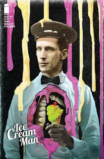 Cover image for ICE CREAM MAN #28 CVR B ECKMAN-LAWN (MR)