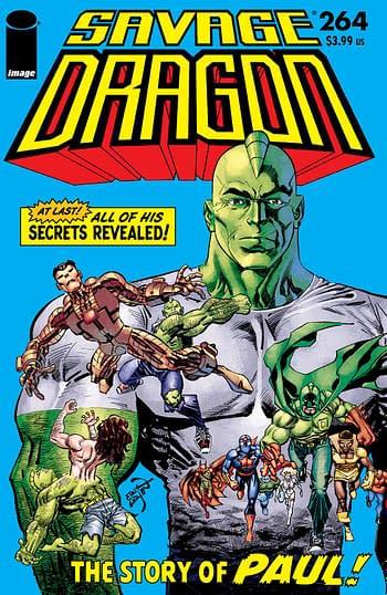 Cover image for SAVAGE DRAGON #264 CVR A LARSEN (MR)