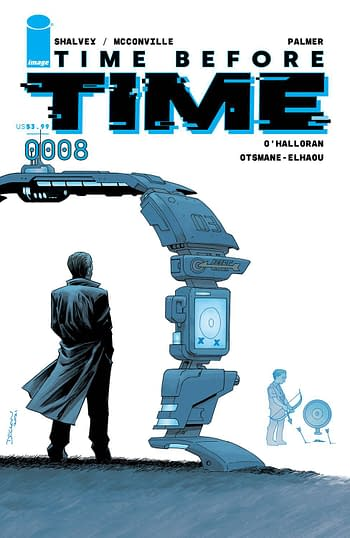 Cover image for TIME BEFORE TIME #8 CVR A SHALVEY (MR)