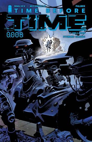 Cover image for TIME BEFORE TIME #8 CVR B BERGARA (MR)