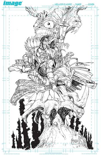 Cover image for HELLCOP #3 CVR D PORTACIO & MCFARLANE VIRGIN (MR)
