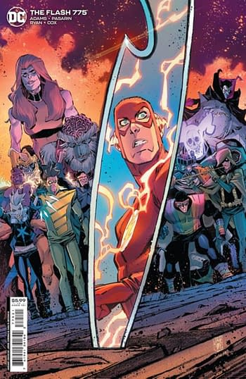 There Will Be Fewer Flash #775 Than Ordered