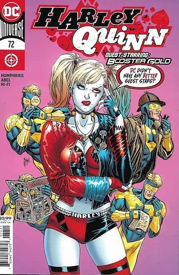 Harley Quinn #72 Cover