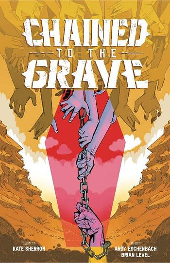 Cover image for CHAINED TO THE GRAVE TP