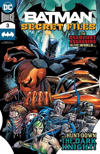 Batman Secret Files #3 Cover