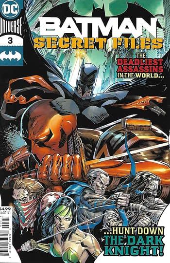 Batman Secret Files #3 Main Cover