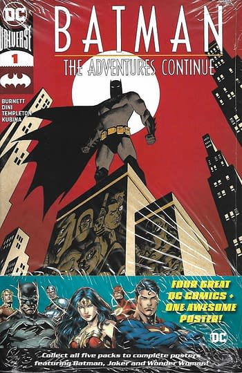Set 3, Batman The Adventure Continues #1 Main Cover