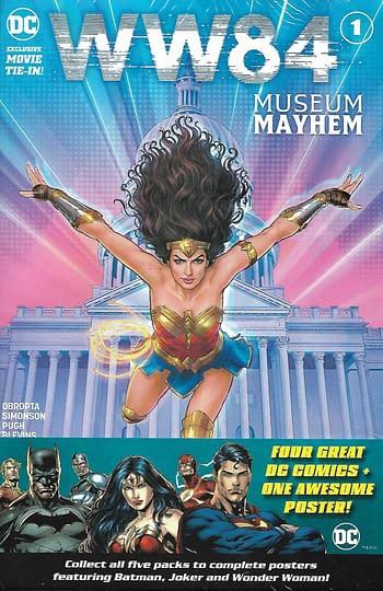 DC Set 5, Wonder Woman '84 Museum Mayhem #1 Main Cover