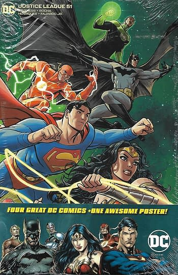 Justice League #51 Variant Cover Pack Front