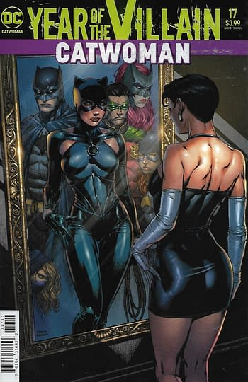 Catwoman #17 Cover