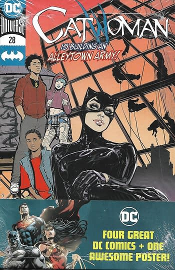 Catwoman #28 Set Front