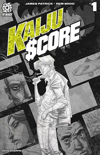 Kaiju Score Gets Third Printing From AfterShock