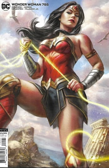 Wonder Woman #755 Variant Cover