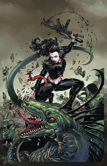 Monster Planet #5 Cover B