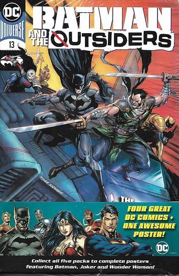 DC Set 4, Batman & The Outsiders #13 Main Cover