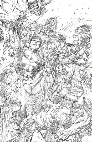 Legion Of Super Heroes #11 Set Poster