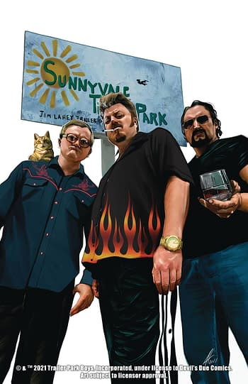 Trailer Park Boys Get An F*Ing Comic Book In July