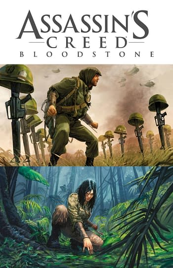 Cover image for ASSASSINS CREED BLOODSTONE COLL HC (RES) (MR)