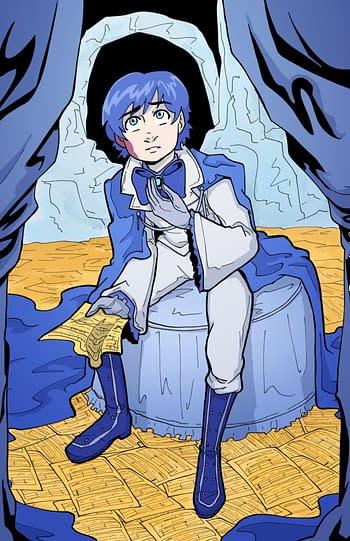 Caitlin Like's New Graphic Novel, The Hundredth Voice, at Dark Horse