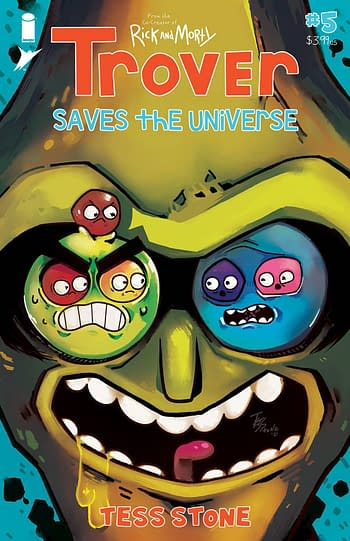 Cover image for TROVER SAVES THE UNIVERSE #5 (OF 5) (MR)