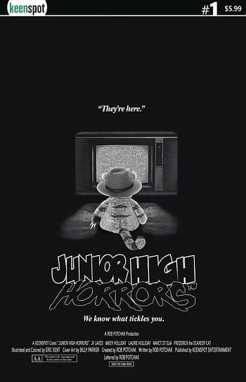 Junior High Horrors April Fools Special #1 Cover B