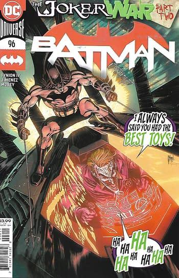 Batman #96 Main Cover