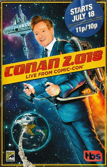 'Conan 2.018: Live from Comic Con' Lands Breaking Bad, The Predator, Glass, and Aquaman Casts