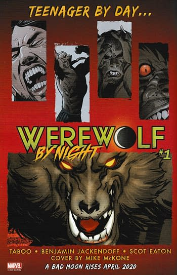 Yes, Marvel Are Bringing Back Werewolf By Night, Confirmed.