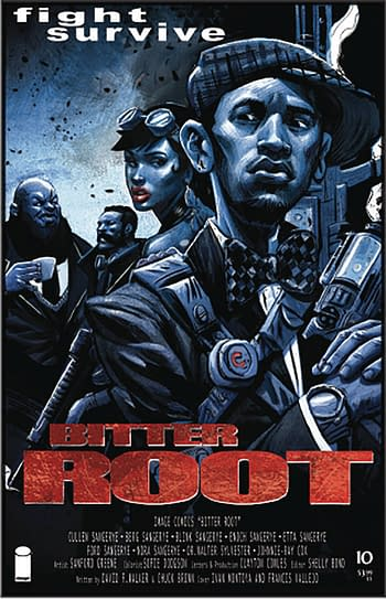 Bitter Root #10 Cover B