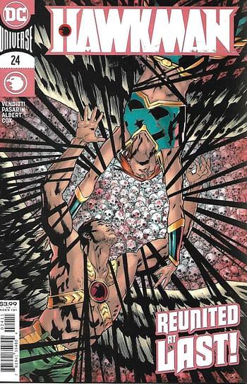 Hawkman #24 Main Cover
