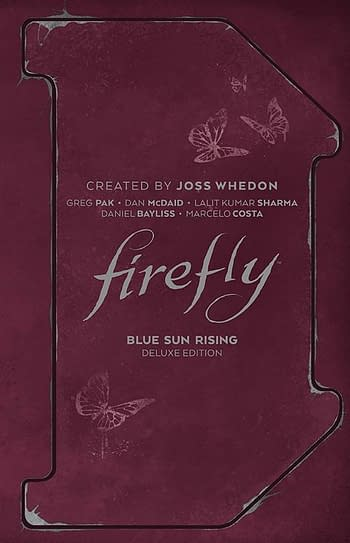Cover image for FIREFLY BLUE SUN RISING DLX ED HC