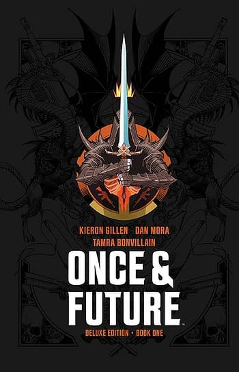Cover image for ONCE & FUTURE DLX ED HC BOOK 01