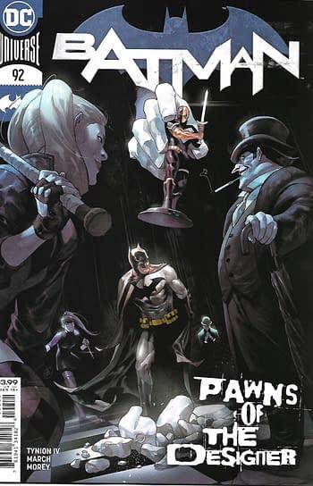 Batman #92 Main Cover