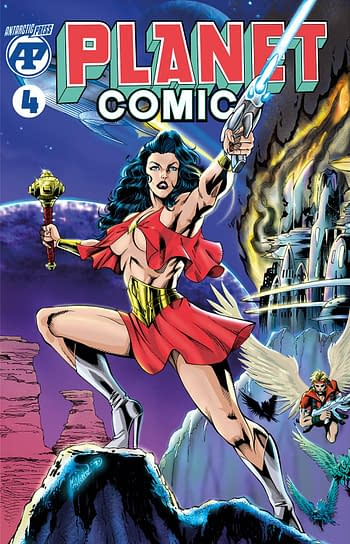 Cover image for PLANET COMICS #4