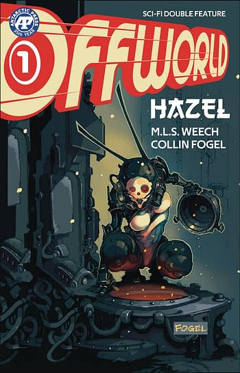 Offworld Sci Fi Double Feature #1 Cover A