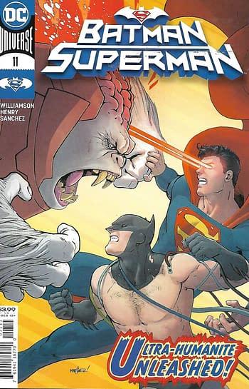 Batman Superman #11 Main Cover