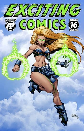 Cover image for EXCITING COMICS #16
