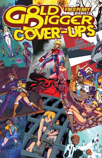 Cover image for GOLD DIGGER COVER UPS ONE SHOT