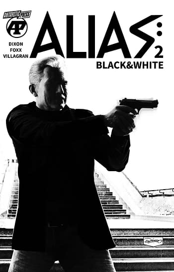 Cover image for ALIAS BLACK & WHITE #2 (OF 7)