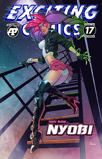Cover image for EXCITING COMICS #17